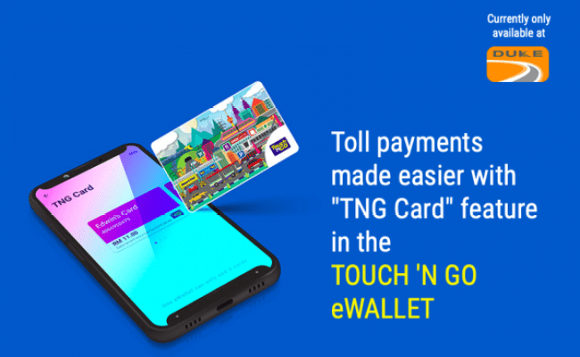 Touch N Go Ewallet Adds Tng Card Feature Bypasses