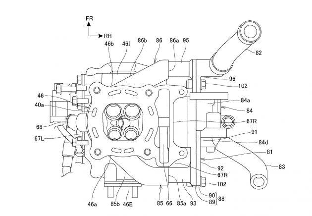 Honda PCX bakal dilengkapi empat injap dan VTEC?