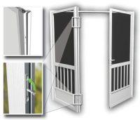 French Screen Doors Entry - Double Screen Door - Patio ...