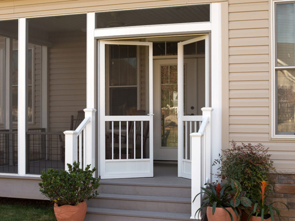 French Screen Doors Entry