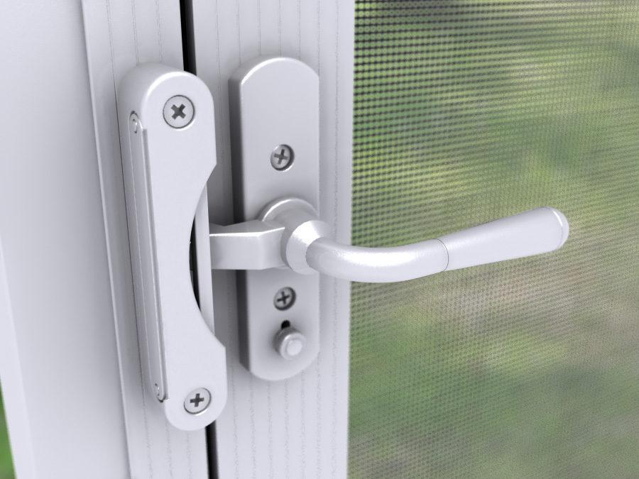 Door Lever Handles For In Swing Screen Doors Lever