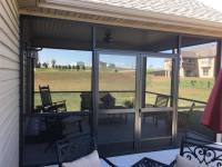 PCA Custom French & Double Screen Doors for Entrances