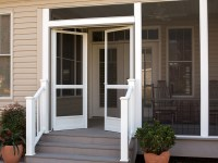 PCA Custom French & Double Screen Doors for Entrances ...