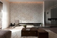 Floral Pattern  Living room - Contemporary - Wall Murals ...