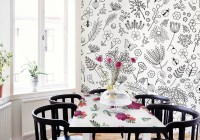 Floral table in your dining room  Dining room ...