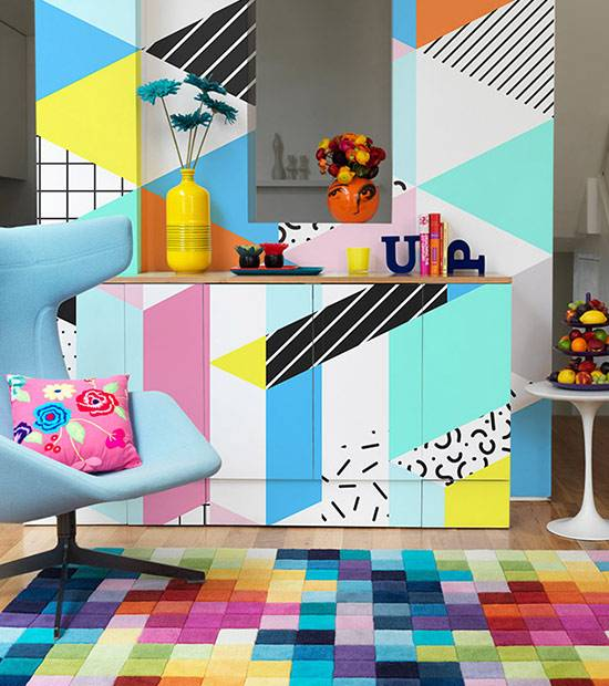 Stickers Living Room - Fancy Puzzle