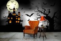 Bats  Living room - Wall Murals - Art & lifestyle ...