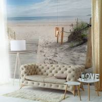 Morning on the beach  Living room - Contemporary - Wall ...