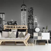 Urban lights  Living room - Contemporary - Wall Murals ...