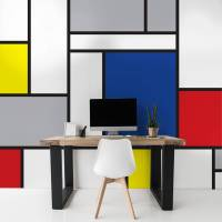 abstract office  Contemporary - Office - Wall Murals ...