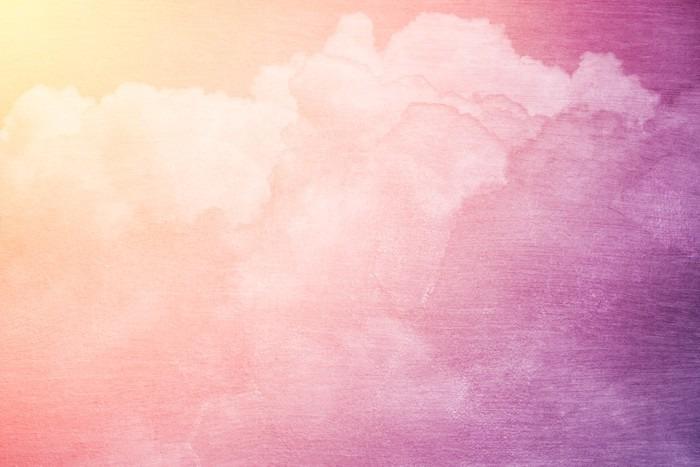 Fototapete Fantasie Himmel und Wolken mit