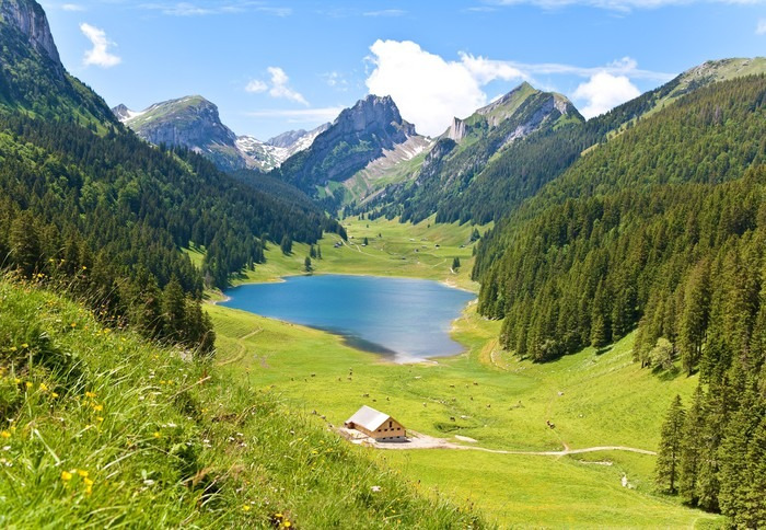 Fototapete Alpen panorama  Pixers  Wir leben um zu
