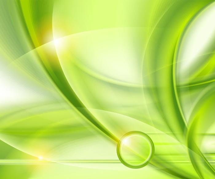 Vinilo para Mesa y Escritorio Fondo verde abstracto