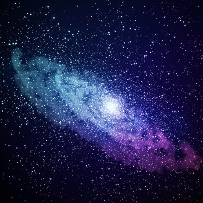 Tableau Sur Toile Limage Space Galaxy Pixers Nous