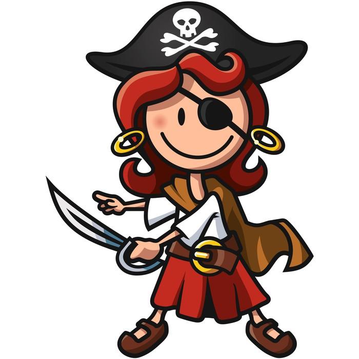 Fototapete Piratenbraut  Pixers  Wir leben um zu verndern