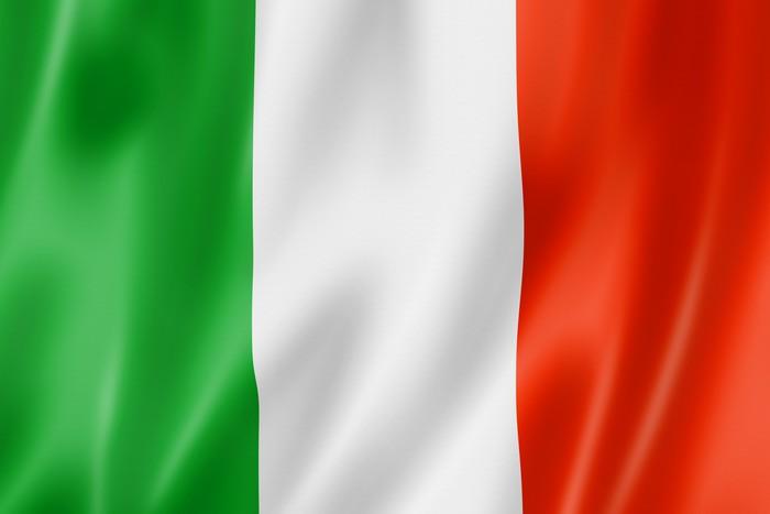 Fotobehang Italiaanse vlag  Pixers  We leven om te