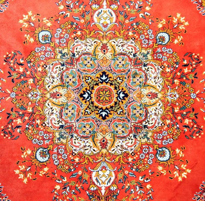 Fotobehang Textuur van de Turkse Carpet  Pixers  We