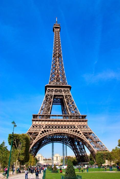 Fotobehang De Eiffeltoren Parijs  Pixers  We leven om