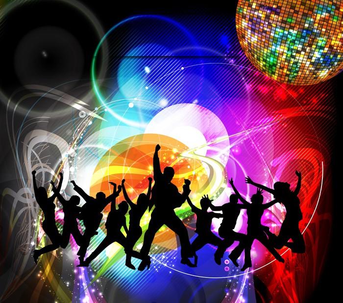 Fotobehang Dansende Mensen  Pixers  We leven om te