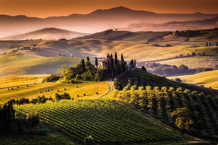 Quadro su Tela Paesaggio Toscana  Italia  Pixers  Viviamo per il cambiamento