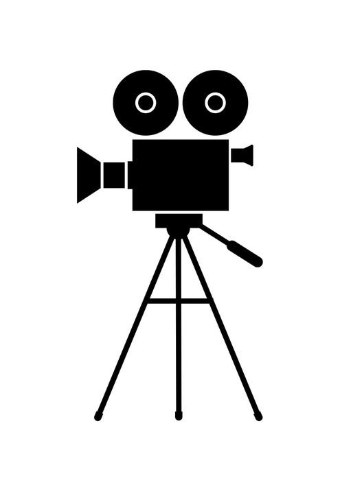 Fototapete Filmkamera  Pixers  Wir leben um zu verndern