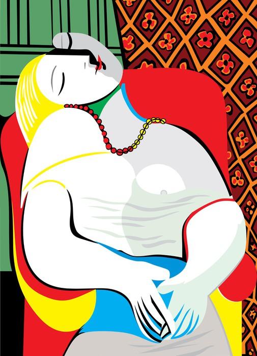 Fototapete Der Traum Pablo Picasso  Pixers  Wir leben