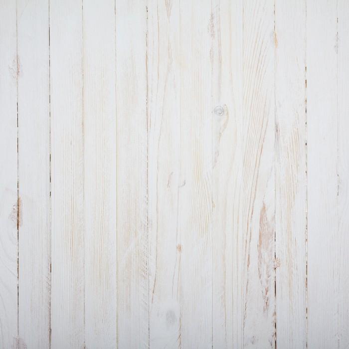 Carta da Parati Vintage sfondo tavolo in legno bianco