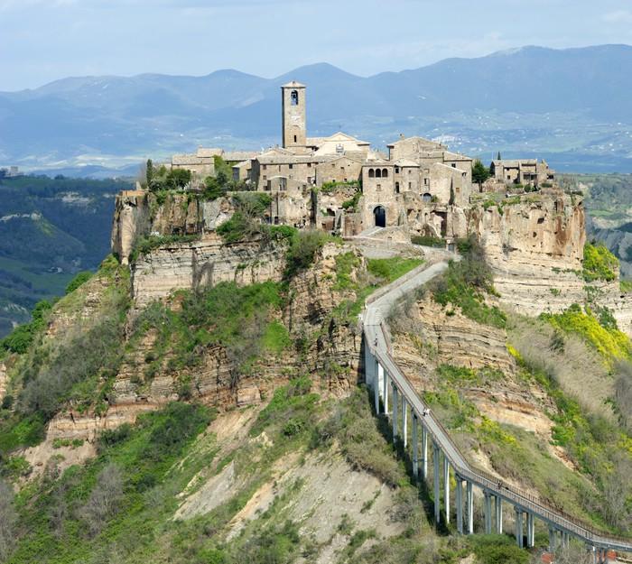 Aufkleber Civita di Bagnoregio Italien  Pixers  Wir