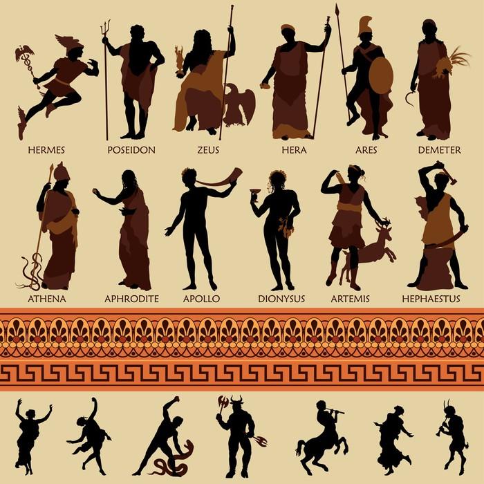 Fototapete Alle 12 griechischen Gtter und Antike Mythologie  Pixers  Wir leben um zu verndern