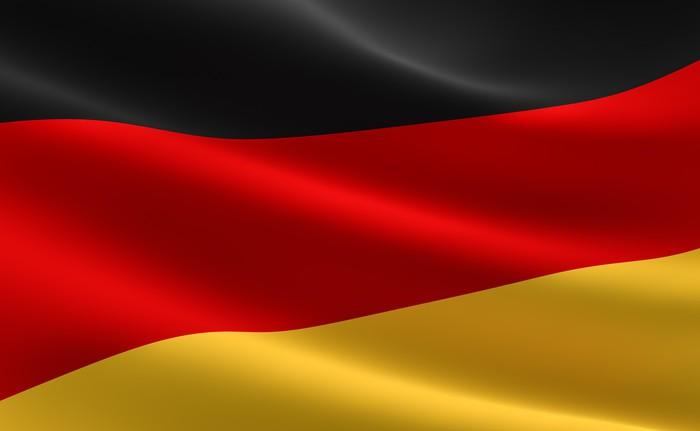 Fototapete German flag  Deutschland Fahne  Pixers  Wir leben um zu verndern