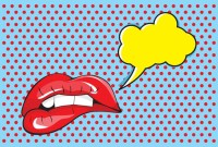 Pop art poster Wall Mural  Pixers  We live to change