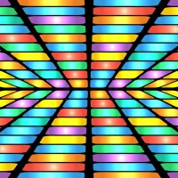 abstract geometric pattern.colorful background of colored ...