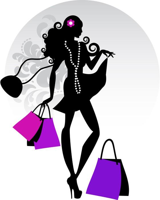 Fototapete ModeSilhouette  Pixers  Wir leben um zu