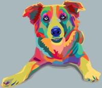 dog pop-art Wall Mural  Pixers  We live to change