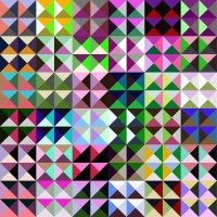 Abstract geometric pattern. Wall Mural  Pixers  We live ...
