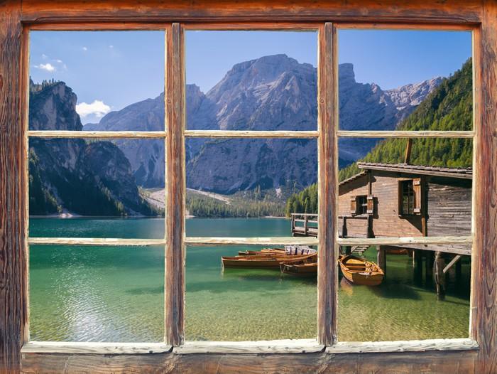 Fototapete Blick aus dem Fenster  Pixers  Wir leben um zu verndern