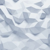 Abstract faceted geometric paper background Wall Mural ...