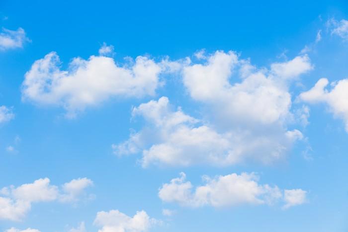 Fototapete Wolken mit blauem Himmel Hintergrund  Pixers