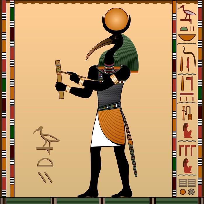 Papier Peint Thot  lancien dieu gyptien de la sagesse et de la connaissance  Pixers  Nous