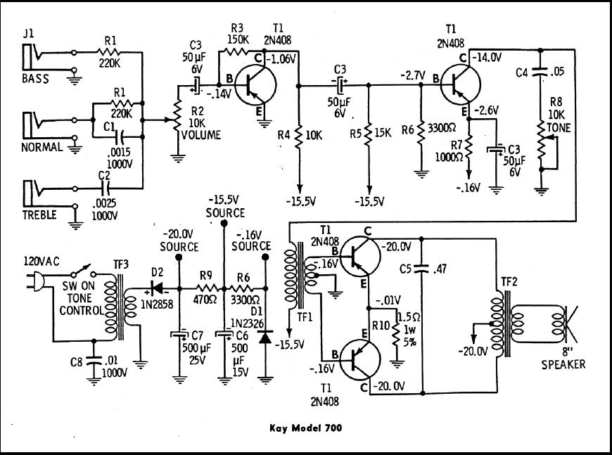 Pignose 7 100 Wiring Diagram. . Wiring Diagram