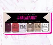 Afbeeldingsresultaat voor orly halal nail polish