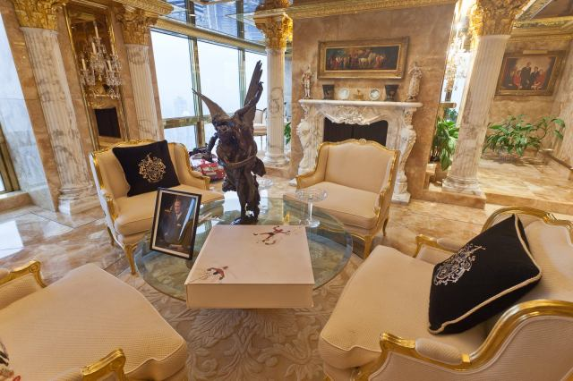 Image result for trump tower house