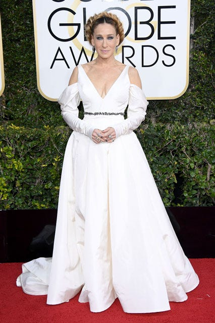 Image result for Sarah Jessica Parker Golden Globes