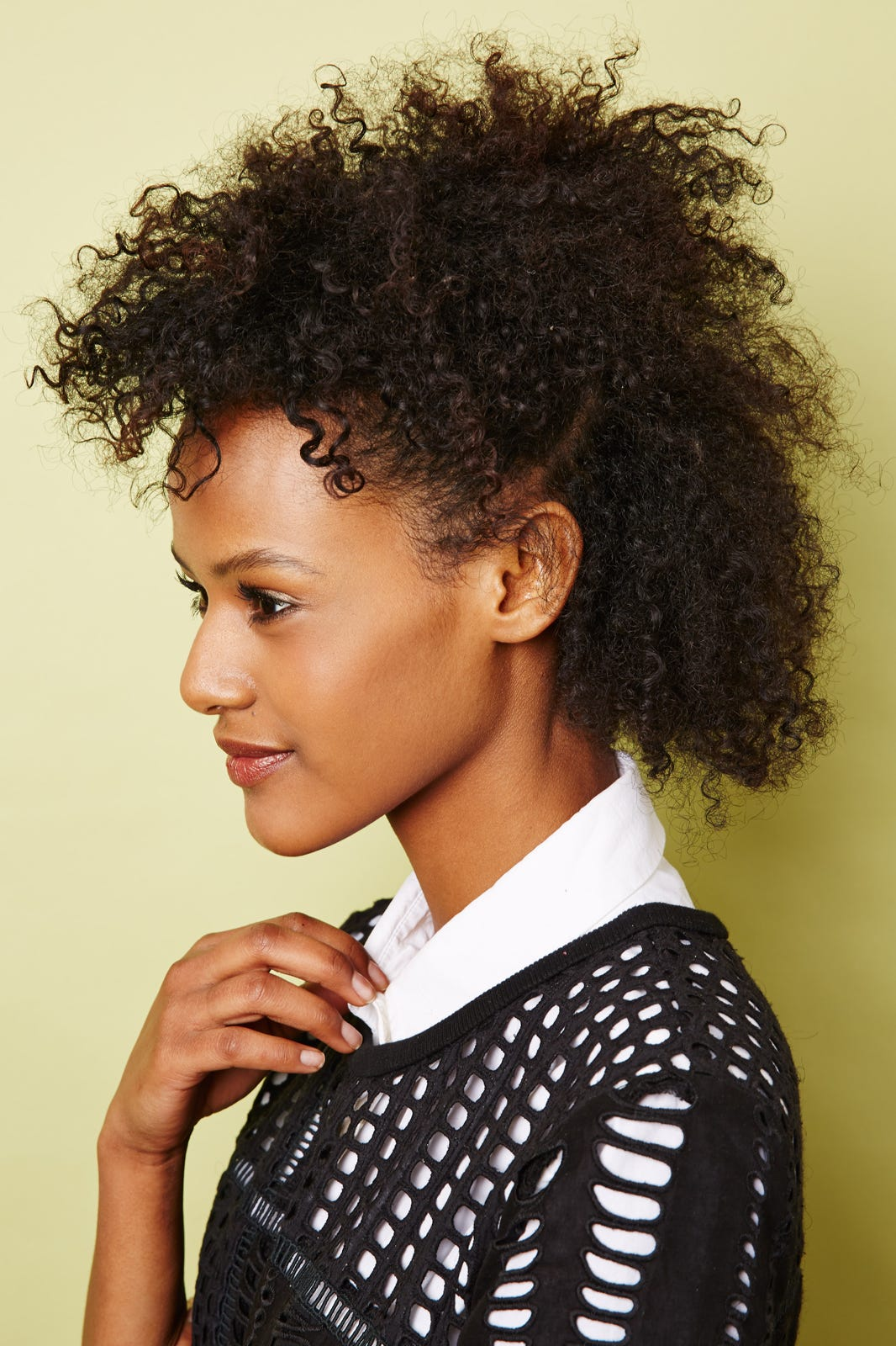 Textured Natural Hairstyles  Spring DIY Looks