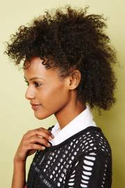 textured natural hairstyles - spring