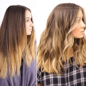Haarfarbe Haare Frben In Vorher Nachher Fotos