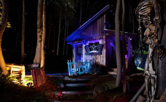 Scary Halloween Decorations Tiny House Nation
