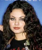 mila kunis hair makeup sexy