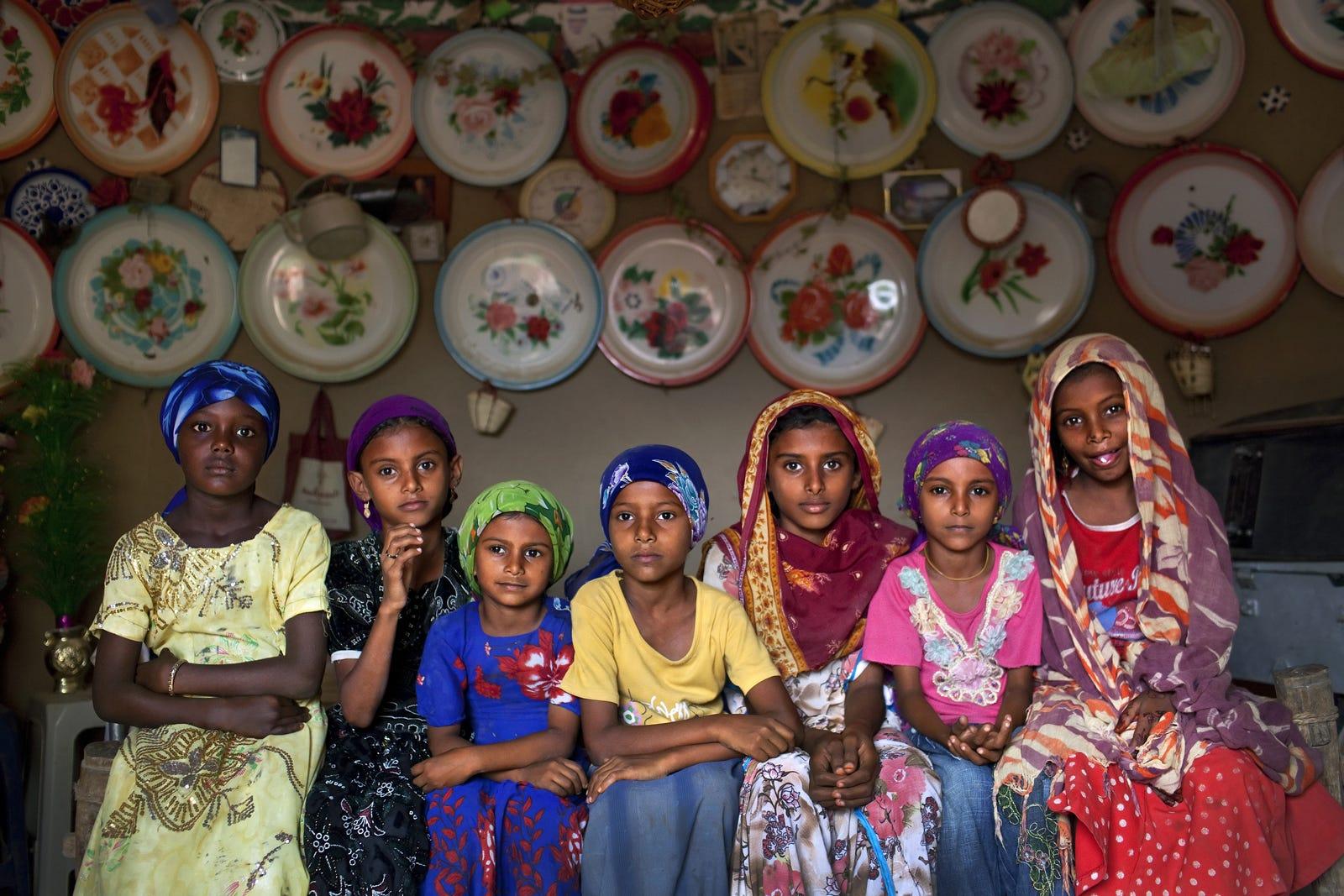 Child Marriage Around The World In Photos