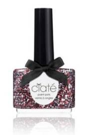 fabric nail art - polish trends